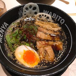 さんまBLACK(麺屋 和人 PREMIUM 北新地店)