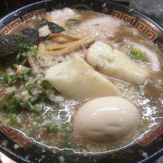 とんこつラーメン(無鉄砲 東京中野店)