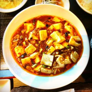 麻婆豆腐(餃子バル 大豊記 中目黒)