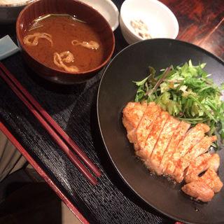 ポークソテー・マスタードソース(かんてら)