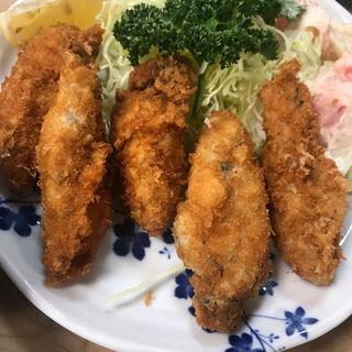 カキフライ定食(大衆割烹 三州屋 銀座店)