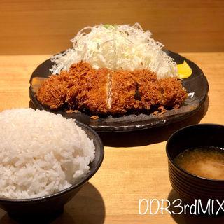 熟成豚のとんかつ定食(豚屋とん一 姫路駅前店)