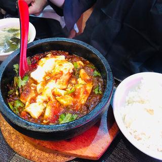 麻婆豆腐(純中国伝統料理四川料理 芊品香 (センピンシャン))