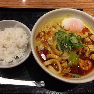 辛吉カレーうどん(カレーうどん 千吉 新木場店 (せんきち))