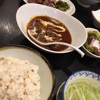 牛タン濃厚シチュー定食(牛タン焼専門店 司 東口ダイワロイネットホテル店 )