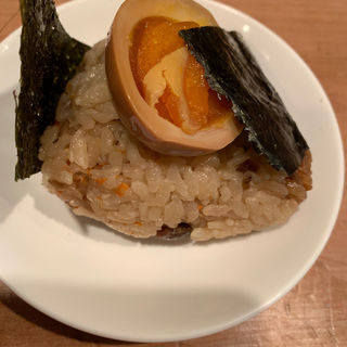 味玉おにぎり(ラーメン仮面55 (PAHAPAHA))