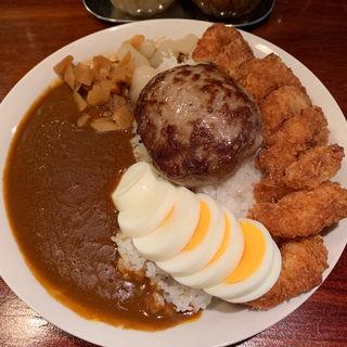 ハンバーグカレー(じゃらん食堂)