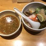 鶏と蛤の濃厚つけ麺