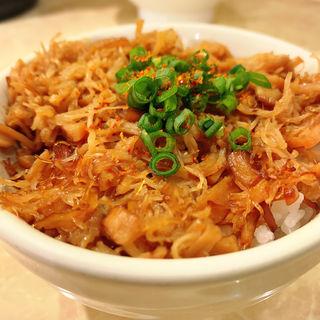 貝柱丼(鶏ポタ ラーメン THANK (サンク))