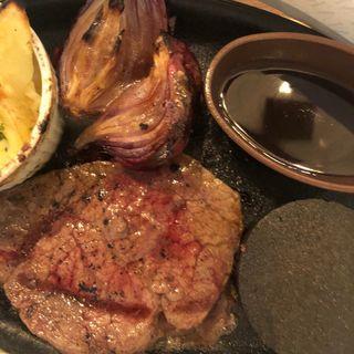 サーロインステーキセット(サンマルク 新宿西口ハルク店 )