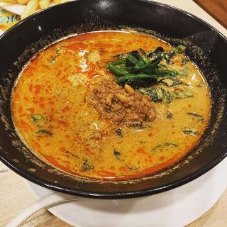 ピリ辛肉味噌担々麺(ガスト 金町駅北口店)