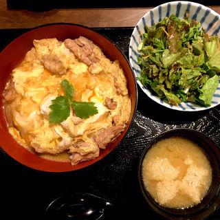絶品親子丼定食(鶏匠 松元)