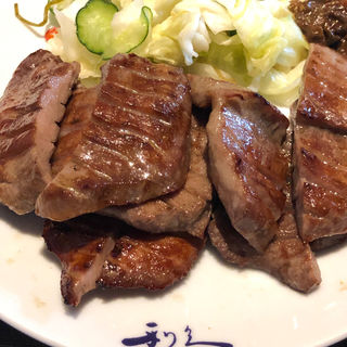 牛たん定食  1人前(牛たん炭焼き 利久 多賀城店 (ぎゅうたんすみやき りきゅう))