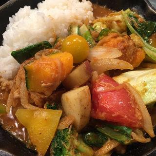 一日分の野菜カレー(野菜を食べるカレーcamp エキマルシェ大阪店)