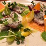 太刀魚のカルパッチョ