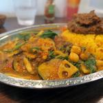 豆と野菜のベジカレー
