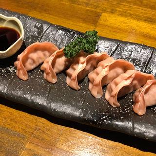 桜ぎょうざ(馬肉と煮込みとハイボール  桜山  福岡春吉店)