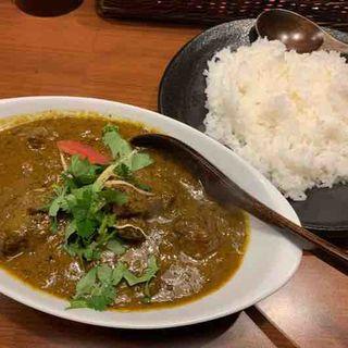 スパイシーマトンカレー、ジャスミンライス(スパイスバザール アチャカナ (Spice Bazaar Achakana))