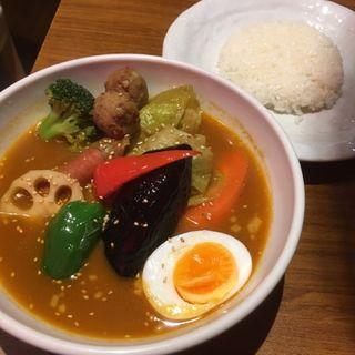 ロールキャベツのスープカリー(シャンティ 高田馬場店 (SHANTi))