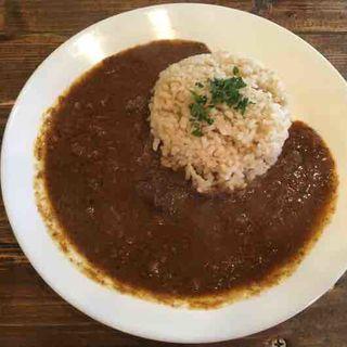 牛すじカレー(大衆肉バル JUST MEAT (ジャストミート))