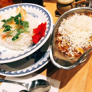 チーズ咖喱麻婆飯(新潟三宝亭東京ラボ宮益坂店 )