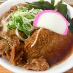 肉そば+コロッケ
