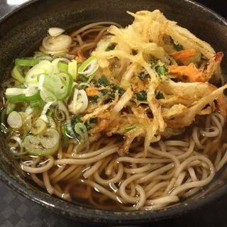 天ぷらそば(かしわや 三軒茶屋店)