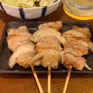 豚バラ串(塩)(本陣串や 新栄店)