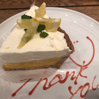 レモンクリームパイ(RH Cafe 千駄ヶ谷店 (アールエイチカフェ))