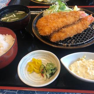 開き海老フライ定食(漣 伊勢店 )