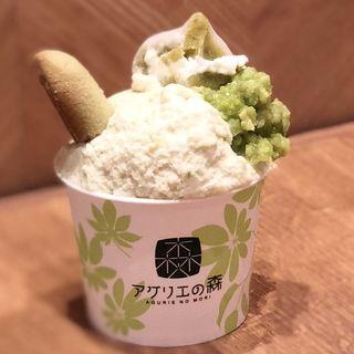 ずんだづくしパフェ(喜久水庵 JR仙台駅店 )