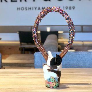 生乳ソフトパフェ(THE MOST BAKERY & CAFE)