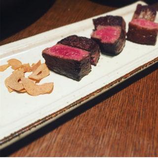 山形牛3種盛り合わせ(加藤牛肉店シブツウ )