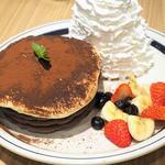 ココアティラミスパンケーキ