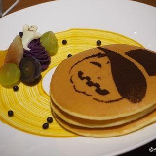 ハロウィンパンケーキ(カフェ クベール (CAFE COUVERT))