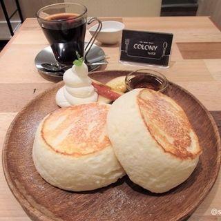 リコッタ香るスフレパンケーキ(COLONY by EQI (コロニー))
