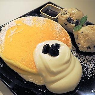 サンド店限定京都パンケーキ きな粉(PANCAKE ROOM 京都タワーサンド店)