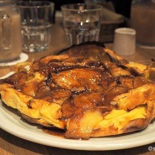 アップルパンケーキ(オリジナルパンケーキハウス なんばパークス店)
