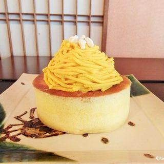 北海道産白皮かぼちゃパンケーキ(雪ノ下 京都本店)