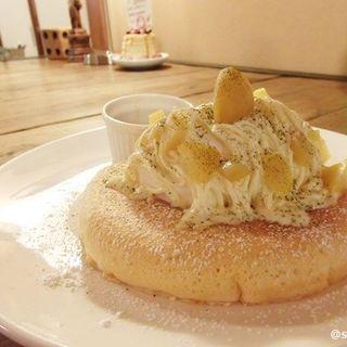 マロンパンケーキ Sのみ (カフェ ラインベック (Cafe Rhinebeck))