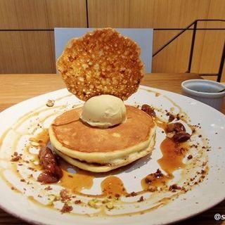 栗とキャラメルのパンケーキ(テーラ テール )