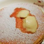 メイプルシロップ+フレッシュバター パンケーキ