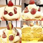 スノーミルキークリームパンケーキ