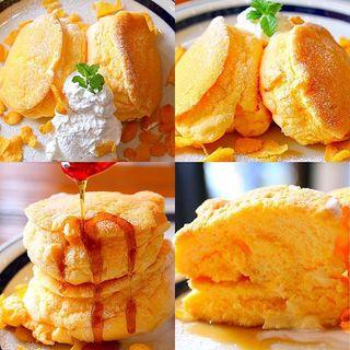 マスカルポーネのパンケーキ