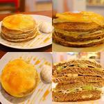 アールグレイのミルクレープパンケーキ
