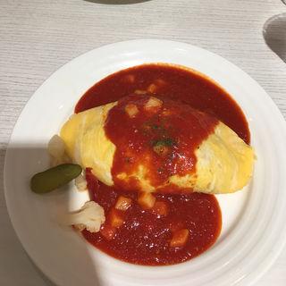 チーズインチキンオムライス(キッチンパレット 相鉄ジョイナス店 (Kitchen Palette))