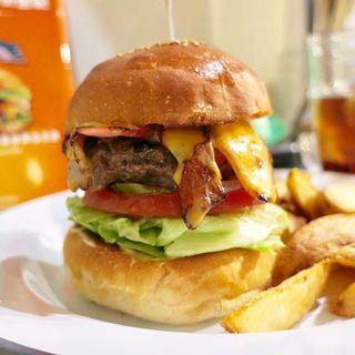 ベーコンチーズバーガー(HELLO NEW DAY Hamburger)