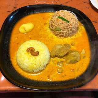 ライス&ヌードルカレーセット(スリランカレストラン キヨミ)