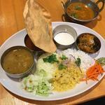 veg meals(ポラポラ食堂)