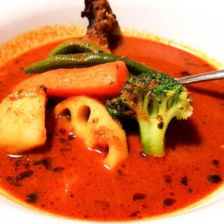 チキン野菜スープカリー